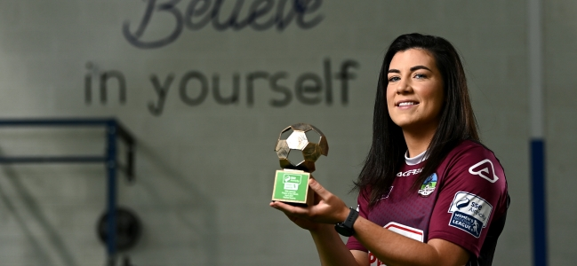 Kearns named SSE Airtricity WNL Player of the Month for April